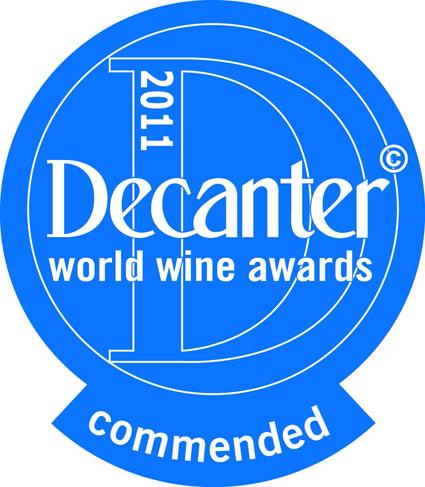 Decanter World Wine Awards - Commended Award
